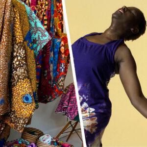 Dans og afrikanske aktiviteter i Brumleby på Østerbro under ÅBEN festival